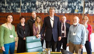 Zac Goldsmith meets Traknat at Portcullis House to discuss regulation of the international arms trade