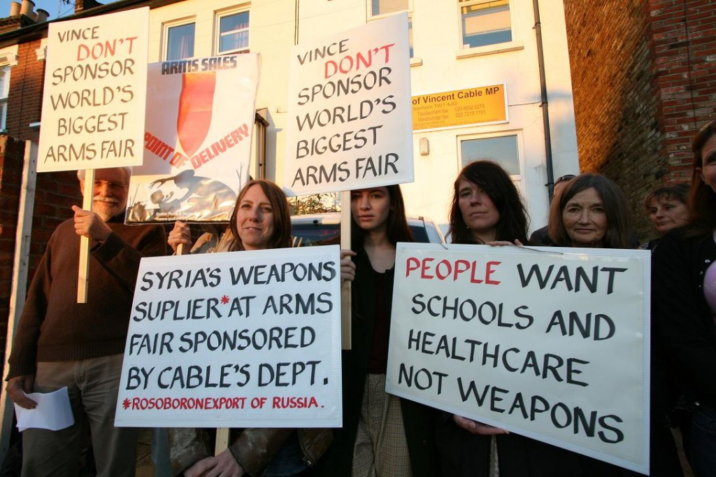 Arms Fair Protest